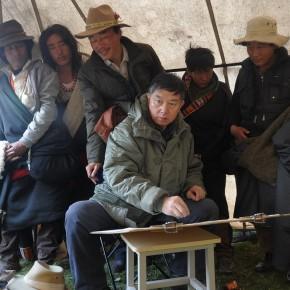 Worksites where Wu Changjiang did his Sketching at Zeku Qinghai in 2012 02 290x290 - Wu Changjiang
