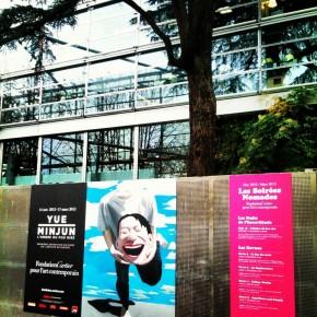01 Yue Minjun lombre du fou rire à la Fondation Cartier