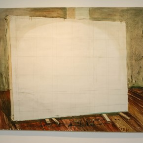 """Zhang Enli, """"Painting"""", 2007; oil on canvas, 200 × 250cm"""