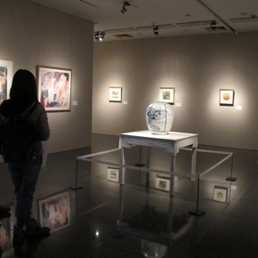 """Folding: Wang Yanping Solo Exhibition (1992-2012)"" Inaugurated Grandly at Art Museum of Beijing Fine Art Academy"