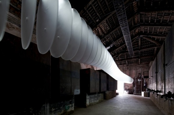 """""""Sequence"""" by Shao Weiping at Venice Biennale 2012-Originaire, China© Nico Saieh"""