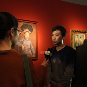 01 Exhibition View of CAFA Art Museum Collection Series: Selected Works of Oil Painting Created in the Period of National Beiping Art School