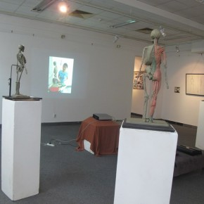 "02 Exhibition View of ""Anatomy"" Reporting Exhibition of the Anatomy Course from the Department of Oil Painting, CAFA"