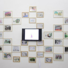"""03 Installation View of """"Double Fly, The Way to Go! - Sounds like a Real Name"""""""