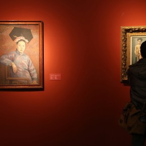 04 Exhibition View of CAFA Art Museum Collection Series: Selected Works of Oil Painting Created in the Period of National Beiping Art School