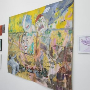 """04 Installation View of """"Double Fly, The Way to Go! - Sounds like a Real Name"""""""