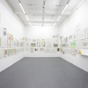 """06 Installation View of """"Double Fly, The Way to Go! - Sounds like a Real Name"""""""