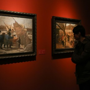 09 Exhibition View of CAFA Art Museum Collection Series: Selected Works of Oil Painting Created in the Period of National Beiping Art School