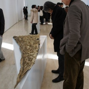 "10 Exhibition View of ""Golden Light"" Qiang Yong's Solo Exhibition"