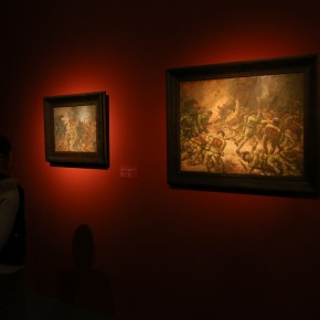 11 Exhibition View of CAFA Art Museum Collection Series: Selected Works of Oil Painting Created in the Period of National Beiping Art School