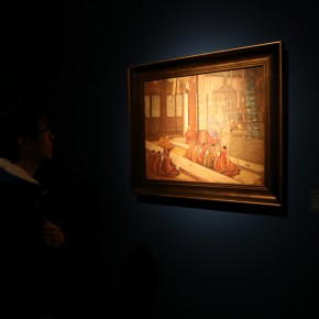 12 Exhibition View of CAFA Art Museum Collection Series: Selected Works of Oil Painting Created in the Period of National Beiping Art School