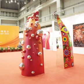 """14 Exhibition View of """"Art and Life Style The Exhibition of Artists' Sculpture Nominated by the Dean"""""""