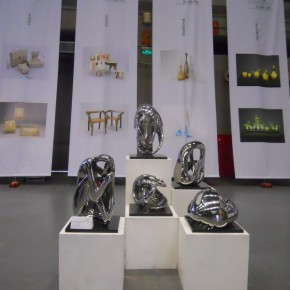 """20 Exhibition View of """"Art and Life Style The Exhibition of Artists' Sculpture Nominated by the Dean"""""""
