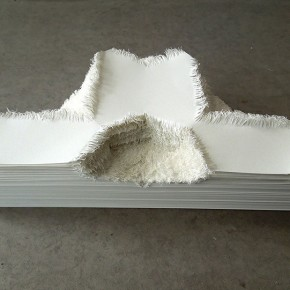 """20 Wu Wei, """"Copy and Produce"""", 30x40x10cm, 2012, paper"""