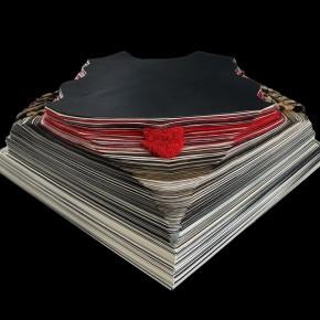 """22 Wu Wei, """"Lushu"""", sculpture, 60x60x40cm, 2012, paper"""