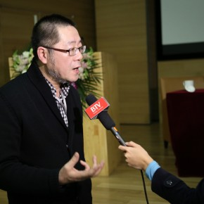 31 Wang Huangsheng was interviewed by BTV