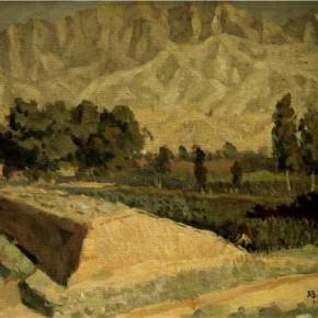 "Cai Jihong, ""Farmland Beyond the Great Wall"""