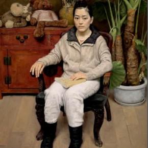 "Chang Lei, ""Reading"""