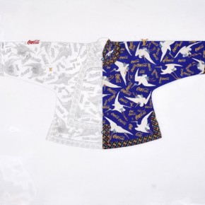 """Cui Qiang , """"Made in China No.2"""", 160×190 cm, colored on silk, 2012"""