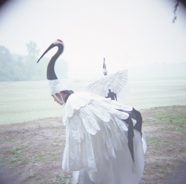 Diary of the Red-Crowned Crane, Performance Photography 01