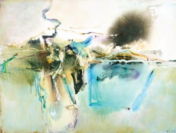 Echo Valley No.3, 2007; oil on canvas, 126x167cm