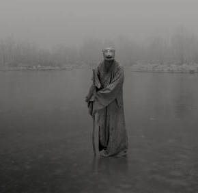 "Feng Fangyu, ""A Wooderland on Fanghu Island"", photography, 70 x 150 cm, courtesy Magda Danysz Gallery"