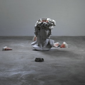 If I Were Resin, Fiber, Acrylic, Composite Materials 117×85×75lcm× 58 2011-2012(2)