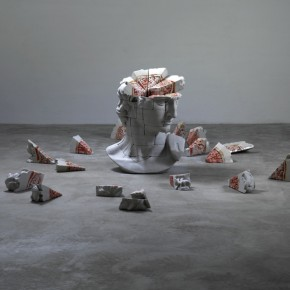 If I Were Resin, Fiber, Acrylic, Composite Materials 117×85×75lcm× 58 2011-2012(3)