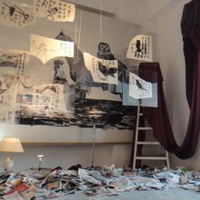 "Installation View of ""Last Night"" 03"