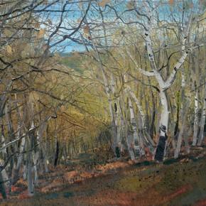 "Li Jiangfeng, ""Fall of Dongbaliang"", 2012; oil on canvas, 140×200cm"
