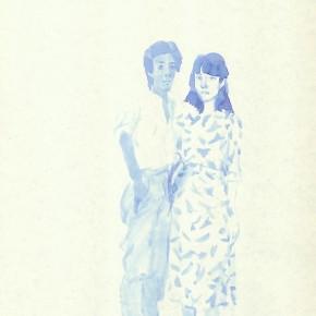 "Liu Xiaodong, ""1"", 2011; ink on paper, 27.2 x19.7cm"