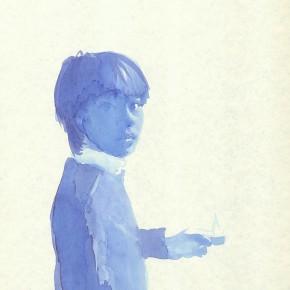 "Liu Xiaodong, ""12"", 2011; ink on paper, 27.2 x19.7cm"