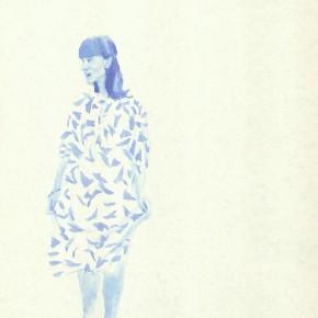"Liu Xiaodong, ""2"", 2011; ink on paper, 27.2 x19.7cm"