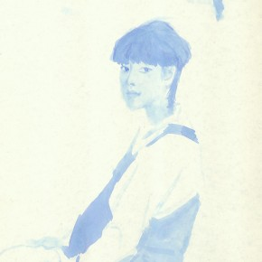 "Liu Xiaodong, ""3"", 2011; ink on paper, 27.2 x19.7cm"