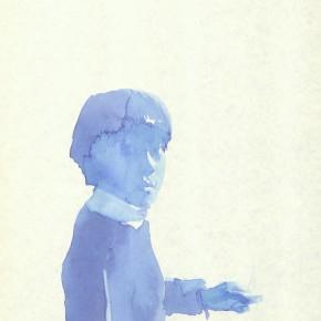 "Liu Xiaodong, ""5"", 2011; ink on paper, 27.2 x19.7cm"