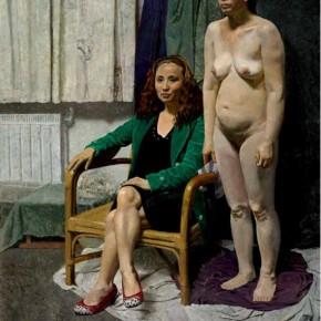 "Tong Ziyun, ""Portraits ofTwo Persons"""