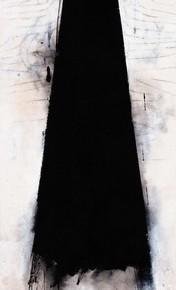 """Wei Qingji, """"High Mountain"""", 148×45 cm"""