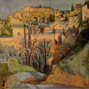 """Yao Yong, """"Landscape of Shijiagou No.4"""""""