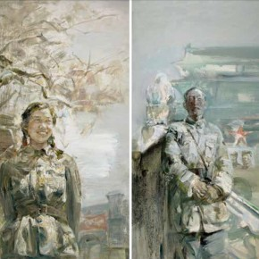 """Zhang Xi, """"1949-My Grandfather and Grandmother on the eve of Founding People Republic of China"""""""