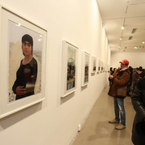 58 Exhibition View of Liu Xiaodong's Hotan Project