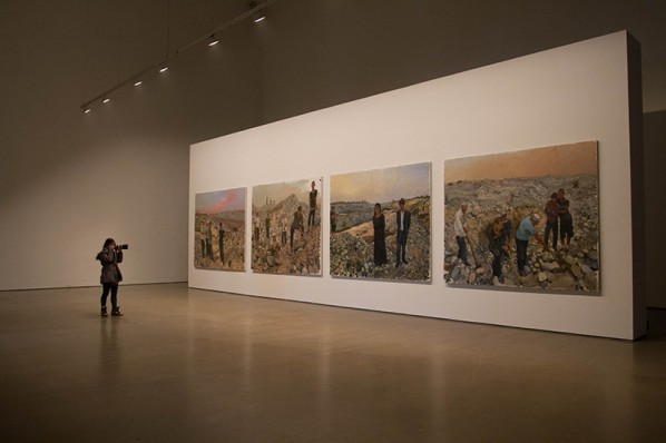 59 Exhibition View of Liu Xiaodong's Hotan Project