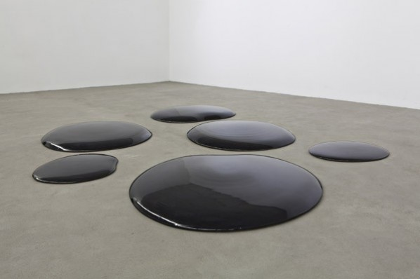 "Ai Weiwei, ""Oil Spills"", 2006©Ai Weiwei Courtesy Galleria Continua"
