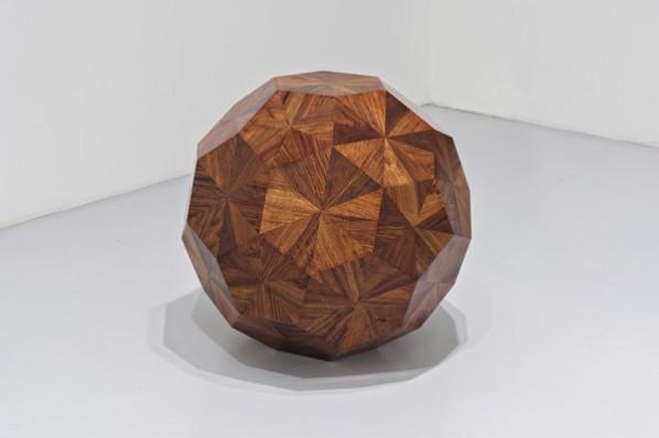 Ai Weiwei, Untitled, 2010; Huali word, Φ70cm©Ai Weiwei Courtesy Galleria Continua