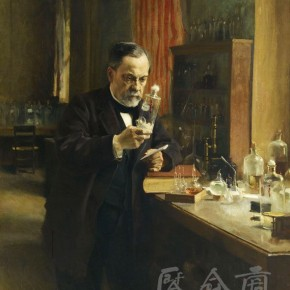 """Albert Edelfelt, """"Louis Pasteur"""", oil on canvas, 154 x 126 cm, 1885"""
