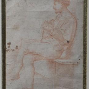 Attributed to Giovanni Agostino da Lodi(active Lombardy circa 1467-1525), Red chalk Courtesy YUAN Space