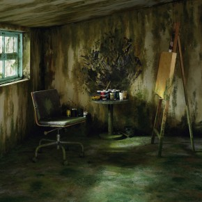 Chen Wei, Mossy Room, 2011; Color Photograph, Archival Inkjet Print, 150cm × 180cm