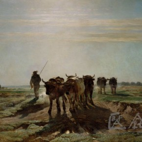 "Constant Trovon, ""The Cattle Going to Labor in the Early Morning"""