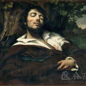 "Gustave Courbet, ""The Injured Man"""