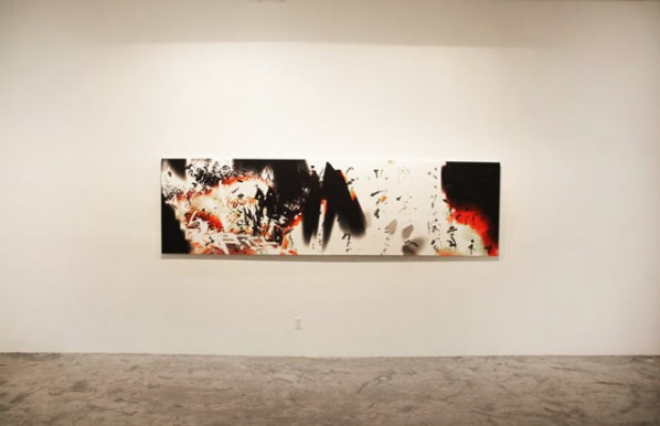 Installation View of Not Too Late: Recent Works by Feng Mengbo 03