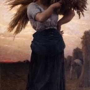 "Jules Adolphe Breton, ""Woman Reaper"""
